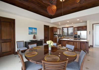 Canary Cove Villa Dining and Kitchen