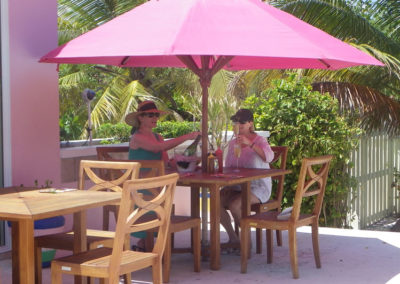 Canary Cove Private Pool Patio Dining