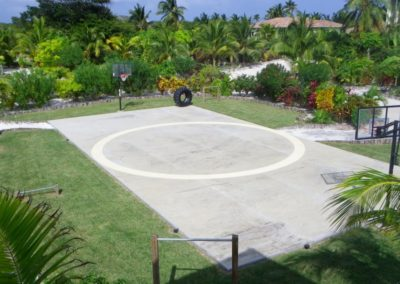 Canary Cove Compound Basketball Court and Strength Workouts