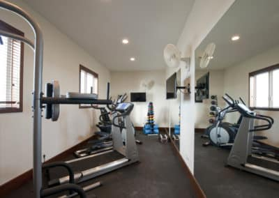 Canary Cove Main House Workout Room