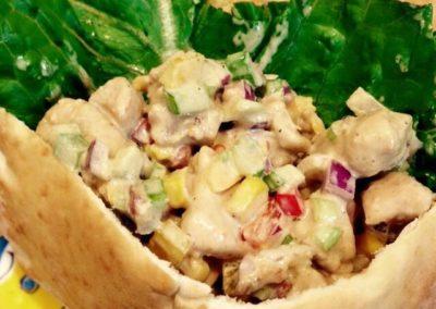Canary Cove Private Chef-prepared Chicken Salad Pita Sandwich