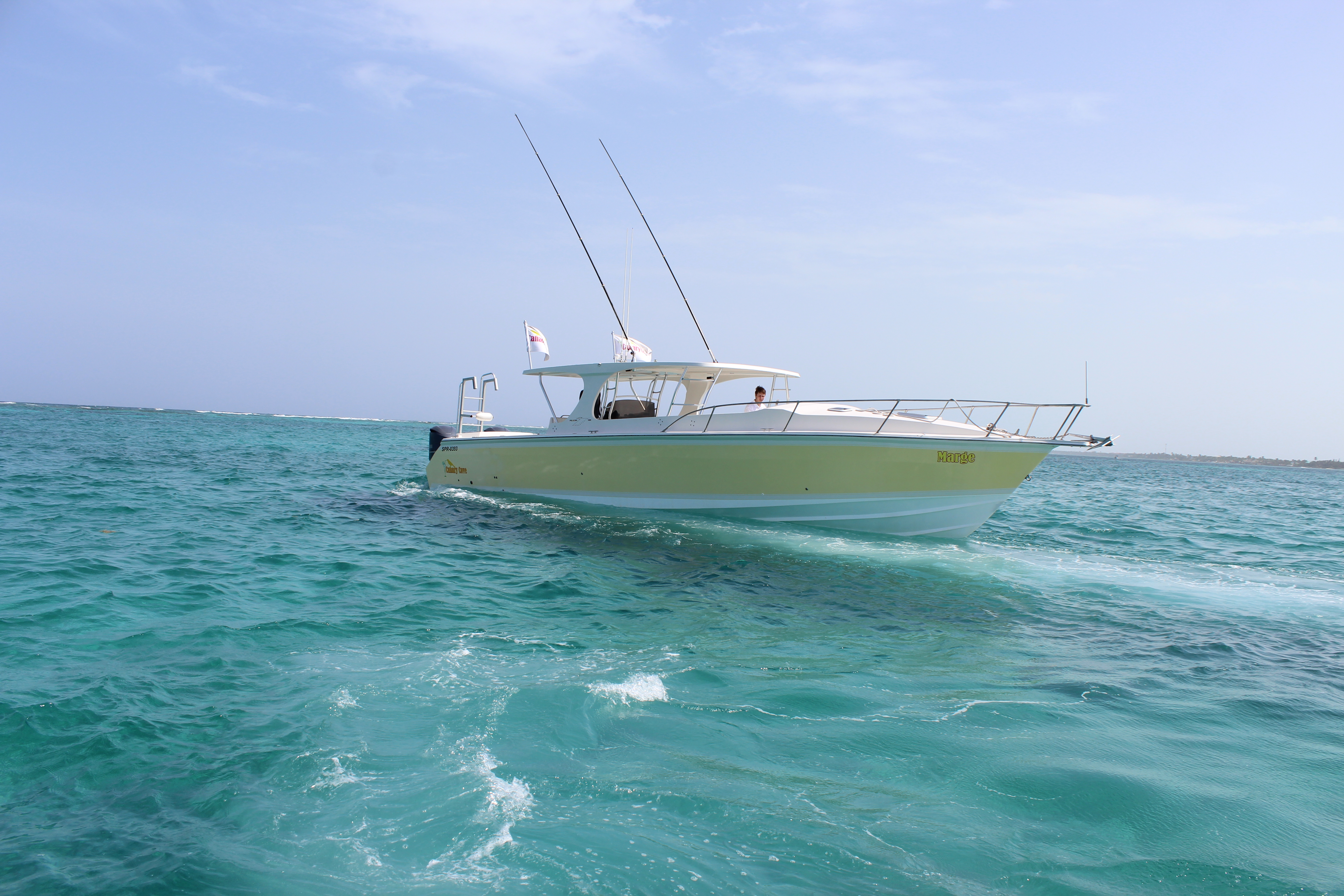 Marge: Canary Cove Private Boat